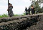 Melihat Lokasi Tanah Bergerak di Aceh Besar