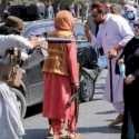 Wanita Afghanistan sedang berunjuk rasa. Foto: net